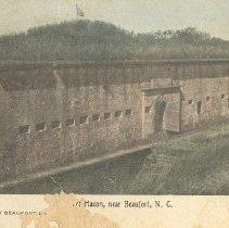 Image of Fort Macon near Beaufort, N.C. - Postcard