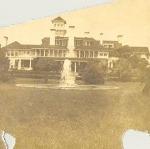 Image of Dungeness Mansion on Cumberland - Print, Photographic