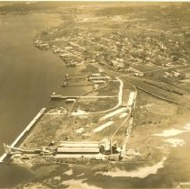 Image of Aerial view of Fernandina before pulp mills - Print, Photographic
