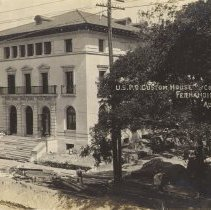 Image of Post Office Aug. 6th 1910