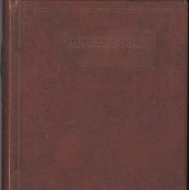Image of Chamber of Commerce Minute Book