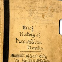 Image of Brief history of Fernandina Florida by Geo. E. Wolff
