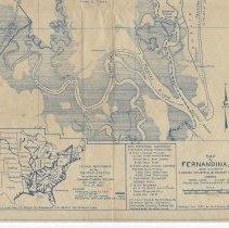 Image of Map of Fernandina , Fla. and vicinity
