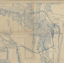 Image of Map of Fernandina, Fla. and vicinity showing industrial & tourist potentialities - Map