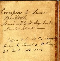 Image of Deed to Lucia Braddock