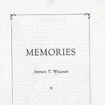 Image of Memories - Manuscript