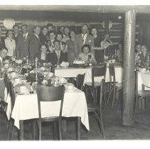Image of Party at Log Manor Restaurant - Print, Photographic