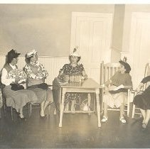 Image of Women's Club skit - Print, Photographic