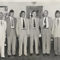 Image of American Legion members - Print, Photographic