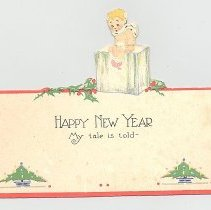 Image of New Years greeting card - Card, Greeting