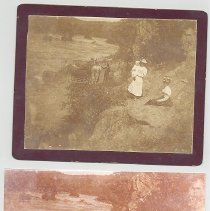 Image of Mr. and Mrs. Arthur Steil by French Broad River - Print, Photographic