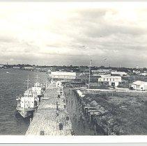 Image of Fernandina Shrimp Docks - Print, Photographic