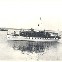 Image of Photo of President Hoover's yacht. - Print, Photographic