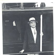 Image of Photo of President Hoover'. - Print, Photographic