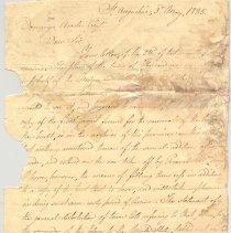 Image of Letter to Domingo Acosta, Esq. - Letter