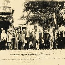 Image of Members of United Confederate Veterans - Print, Photographic
