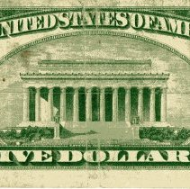 Image of $5 note National Currency and First National Bank of Fernandina