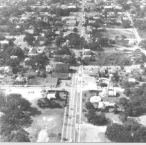 Image of Aerial photograph of City of Fernandina - Print, Photographic