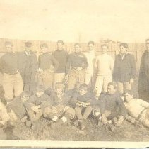 Image of Football team (about 1908) - Print, Photographic