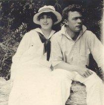Image of Melba and Harry Sahlman - Print, Photographic