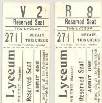 Image of Theater tickets