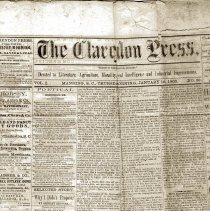 Image of The Clarendon Press - Newspaper