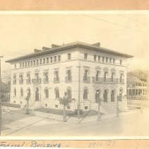 Image of Federal Building Fernandina FL 1911 - Print, Photographic