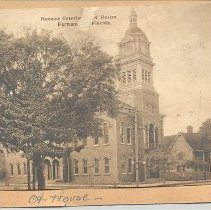 Image of Nassau County Courthouse - Postcard