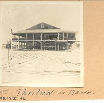 Image of Third pavillion on beach