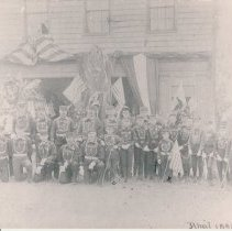Image of Tiger Hose Company #1 - Print, Photographic