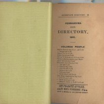 Image of City Directory 1900