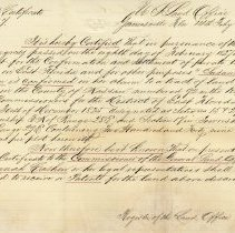 Image of Patent certificate no. 7