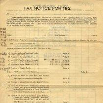 Image of Tax Return of Baker & Mizell