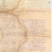 Image of Letter to C W Yulee - Letter