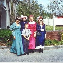 Image of Victorian costumes - Print, Photographic