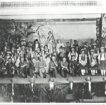 "Image of St. Joseph's Academy Commencement  Exercises--June 1927--""Soldiers of Erin"" - Print, Photographic"