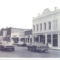 Image of Centre Street in the 1960's - Print, Photographic