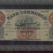 Image of Bank Commerce note $20