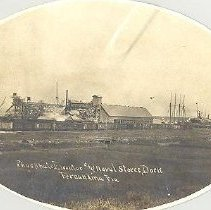 Image of Phosphate elevator and naval store dock - Print, Photographic
