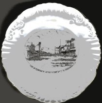 Image of China Plate - Plate, Commemorative