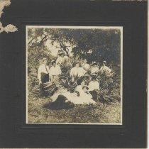 Image of J. Fred Klarer picnic 09/03/1907 - Print, Photographic