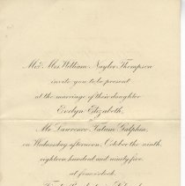 Image of Wedding invitation