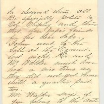 Image of Letter written April 20th, 1897