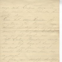 Image of Letter from Mrs. Thompson dated Sep 9th 1898