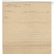 Image of Letter to A. O. MacDonnell