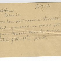 Image of Letter regarding L. Bucki & Son account