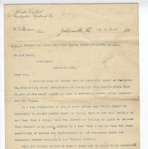 Image of Letter from W. N. Thompson to H. R. Duval - Letter