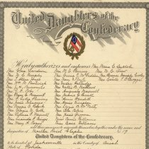 Image of United Daughters of the Confederacy charpter for Marth Reid Chapter