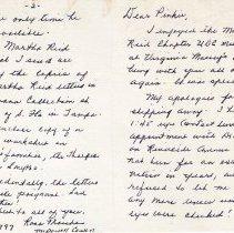 Image of Letters of Martha Reid (cover letter)