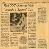 Image of Newspaper clippings about Robert R. Reid
